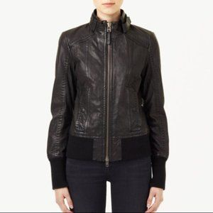 Mackage for Aritzia Elie Leather Jacket XS